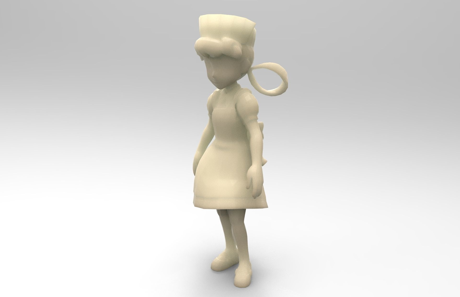 Nurse Joy from pokemon saga