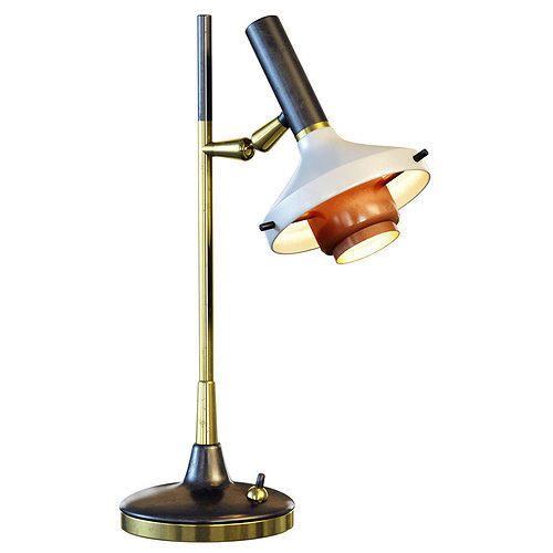 Oscar torlasco table lamp 3d model cgtrader for Table lamp 3ds max