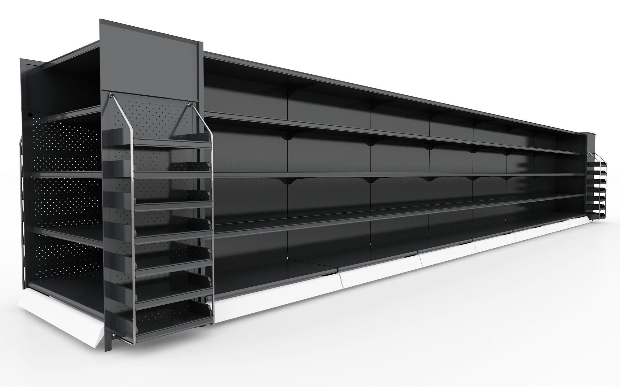 Shelf 3D model 17