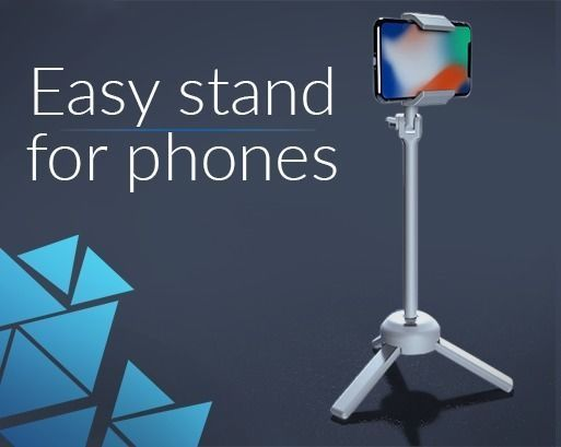 Easy stand for smartphone