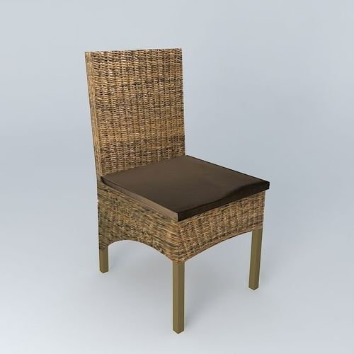 Yangon chair d model max obj ds fbx stl skp