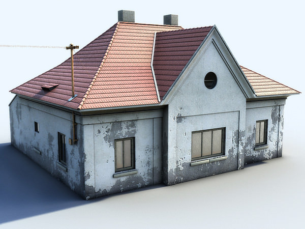Old Concrete Buildings : All dmodels sharing d models flawlessy through