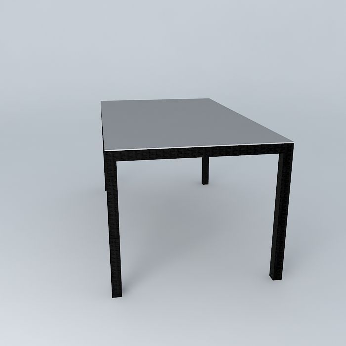 Dining table 3d model max obj 3ds fbx stl skp for Dining table latest model