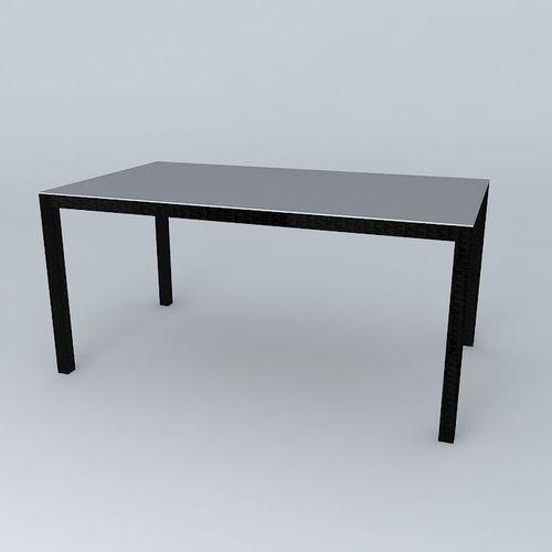 Dining table 3d model max obj 3ds fbx stl skp for New model dining table