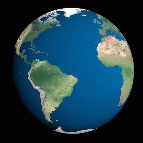 earth globe 3d cgtrader
