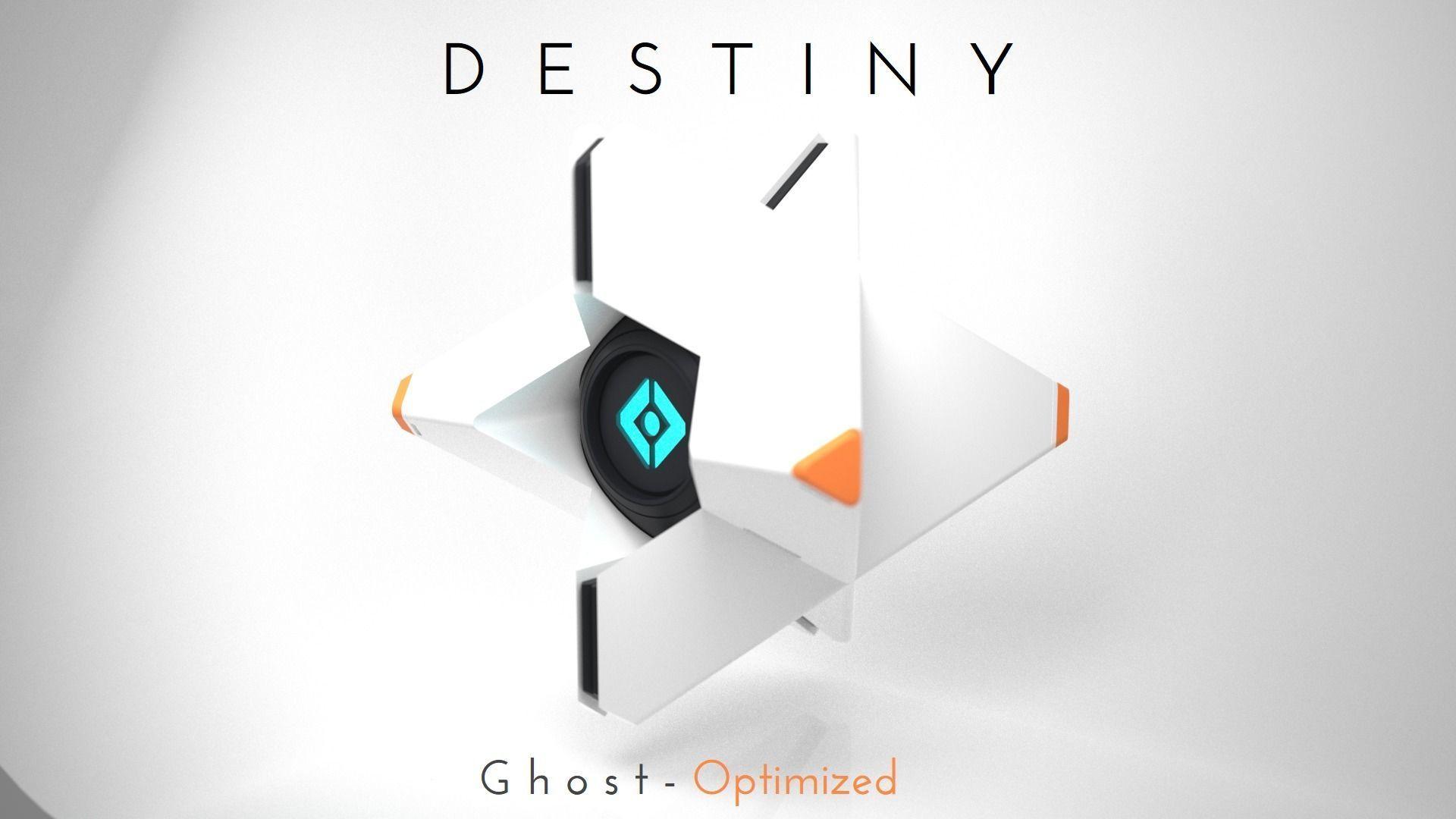 Destiny Ghost - Fast print - Snap fit | 3D Print Model