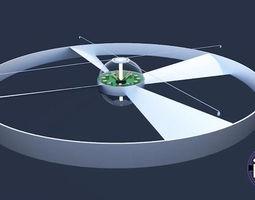 3D model Drone Concept