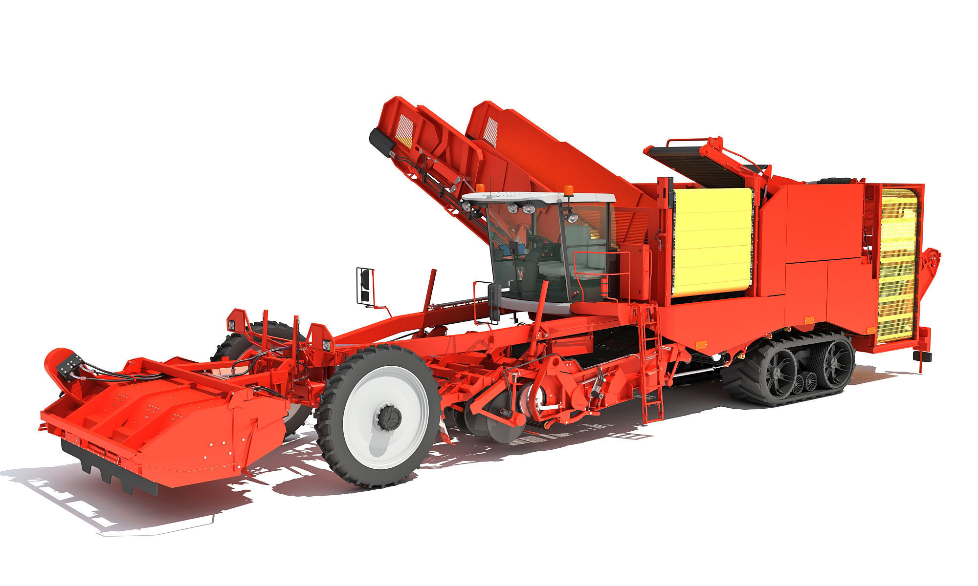Potato Combine Harvester