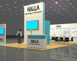 Booth Halla at IGEM 2012 3D Model