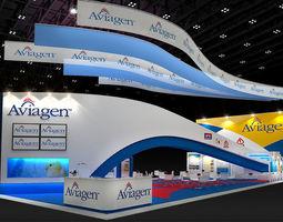 Booth Aviagen Design  3D Model