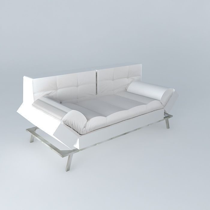 Denver Convertible White Sofa, Maisons Du Monde, Ref 117 902,... ...
