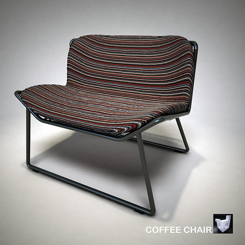 lounge coffee chair 1786zs 3d model obj 3ds fbx dae skp mtl 1