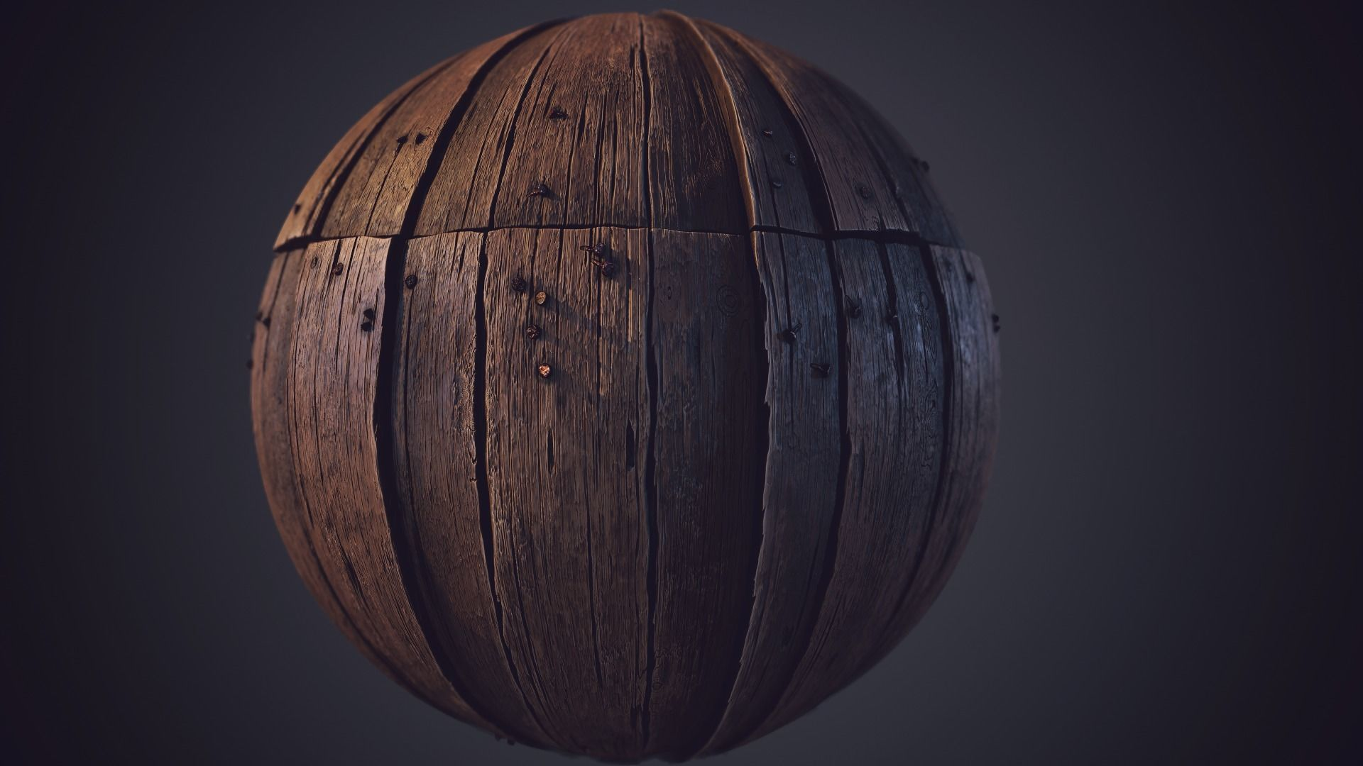 Wood Plank  Substance Designer Material and Video