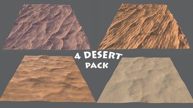 DESERT PACK LowPoly GameReady
