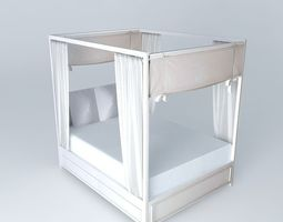 3d canopy bed manosque