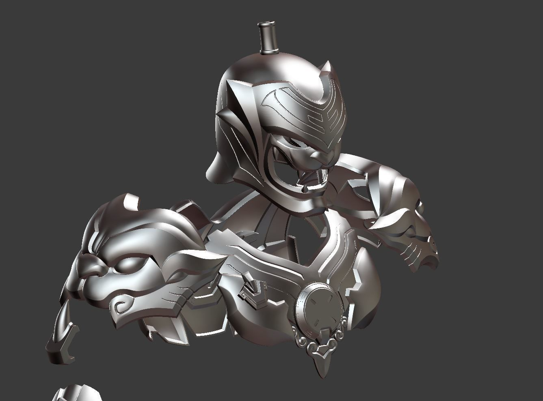 Overwatch Genji Baihu full armor