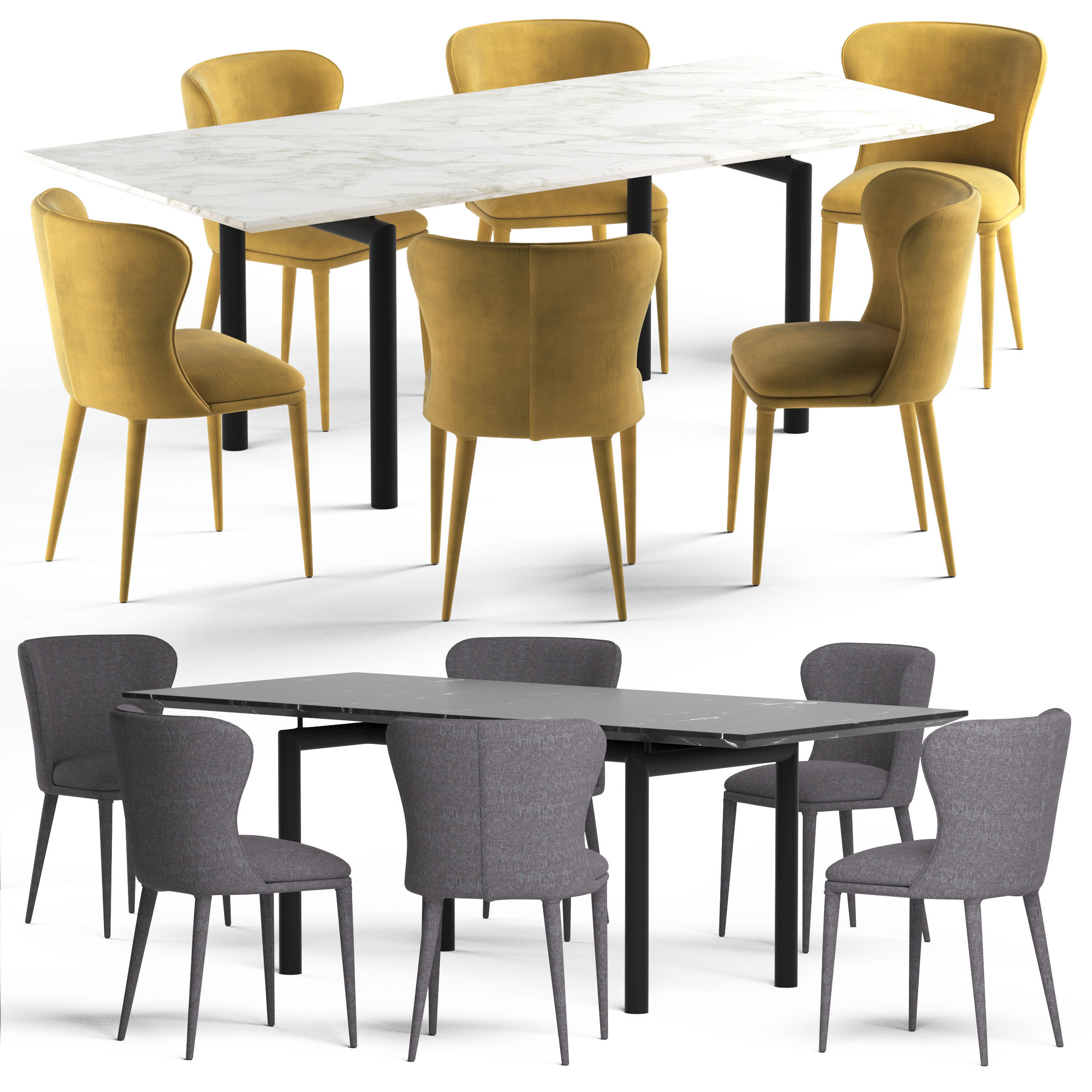 Globewest Amara Table and Eloise Chair