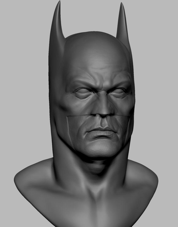 Batman Head Printable