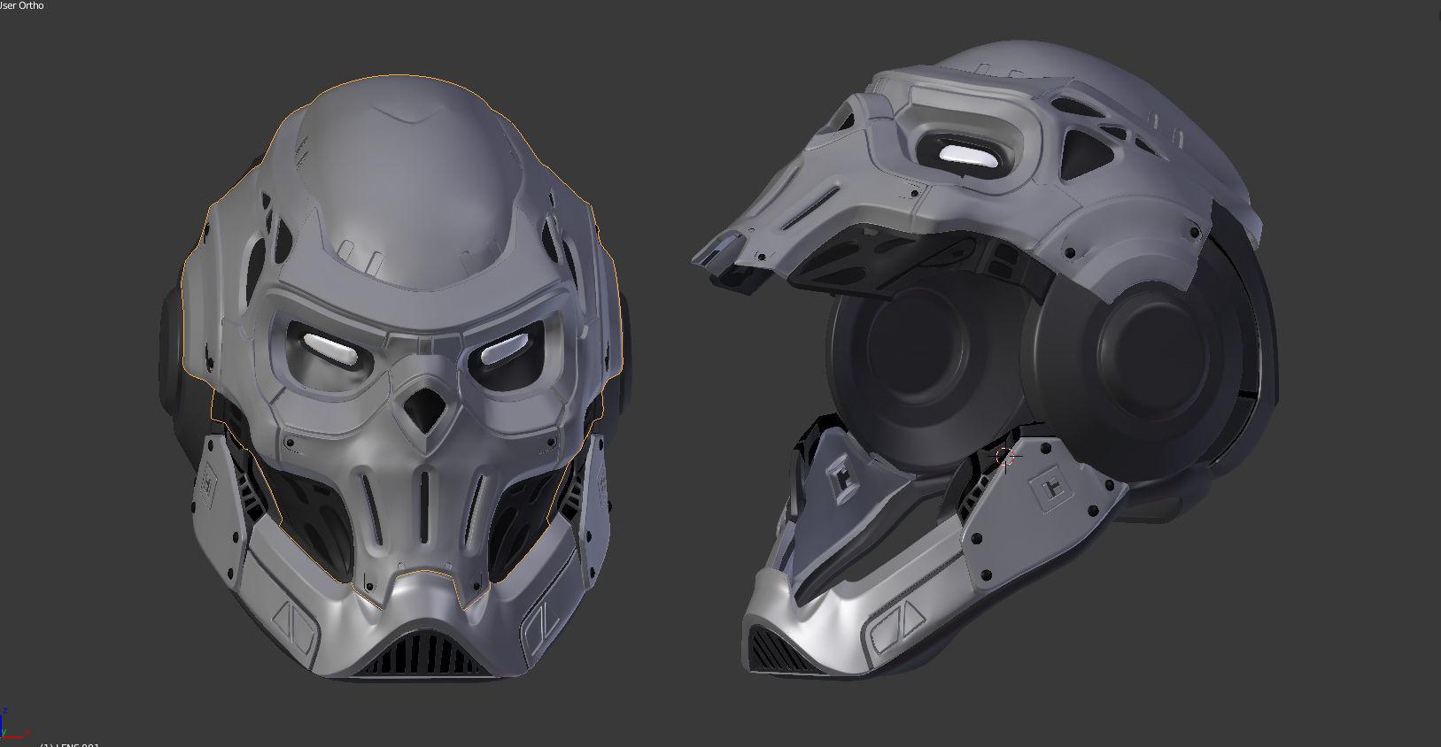 spider man taskmaster helmet