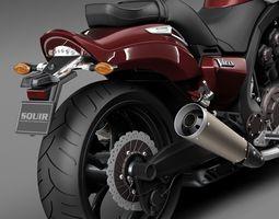Yamaha VMax 2015 3D Model