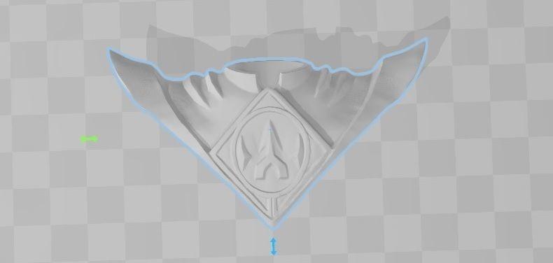 Power rangers 3d file Shield  lord drakkon