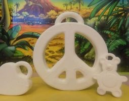 3 pendants 3D printable model