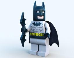 Lego character - Batman 3D Model