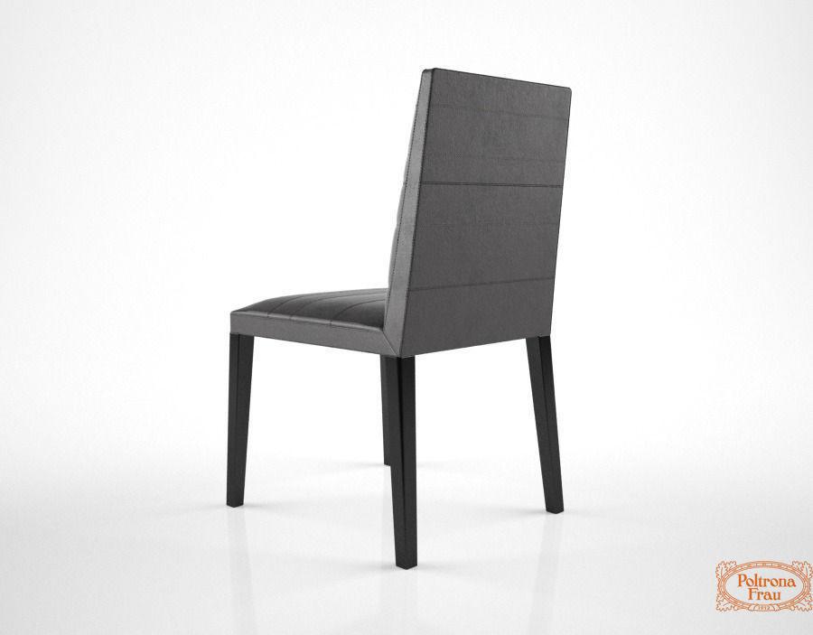 Poltrona frau louise chair 3d model max for Poltrona 3d