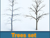 Trees collection 3D Model