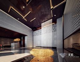luxurious architectural interior 86 3d model
