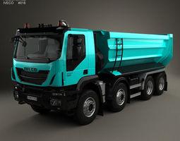 3D model Iveco Trakker Tipper Truck 2013