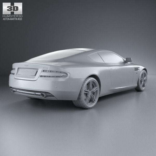 3d Model Aston Martin Db9 2004 Cgtrader
