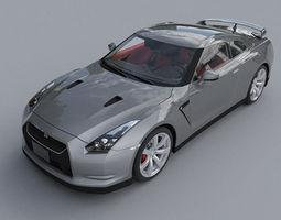Nissan GTR 3D
