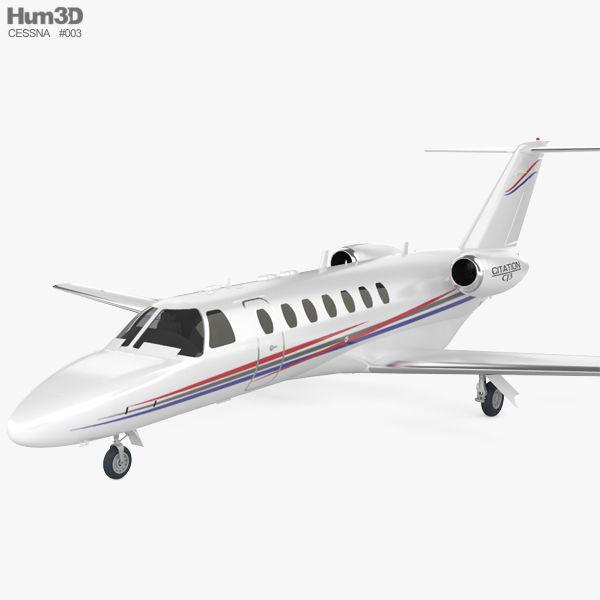 Cessna Citation Cj3 3d Model