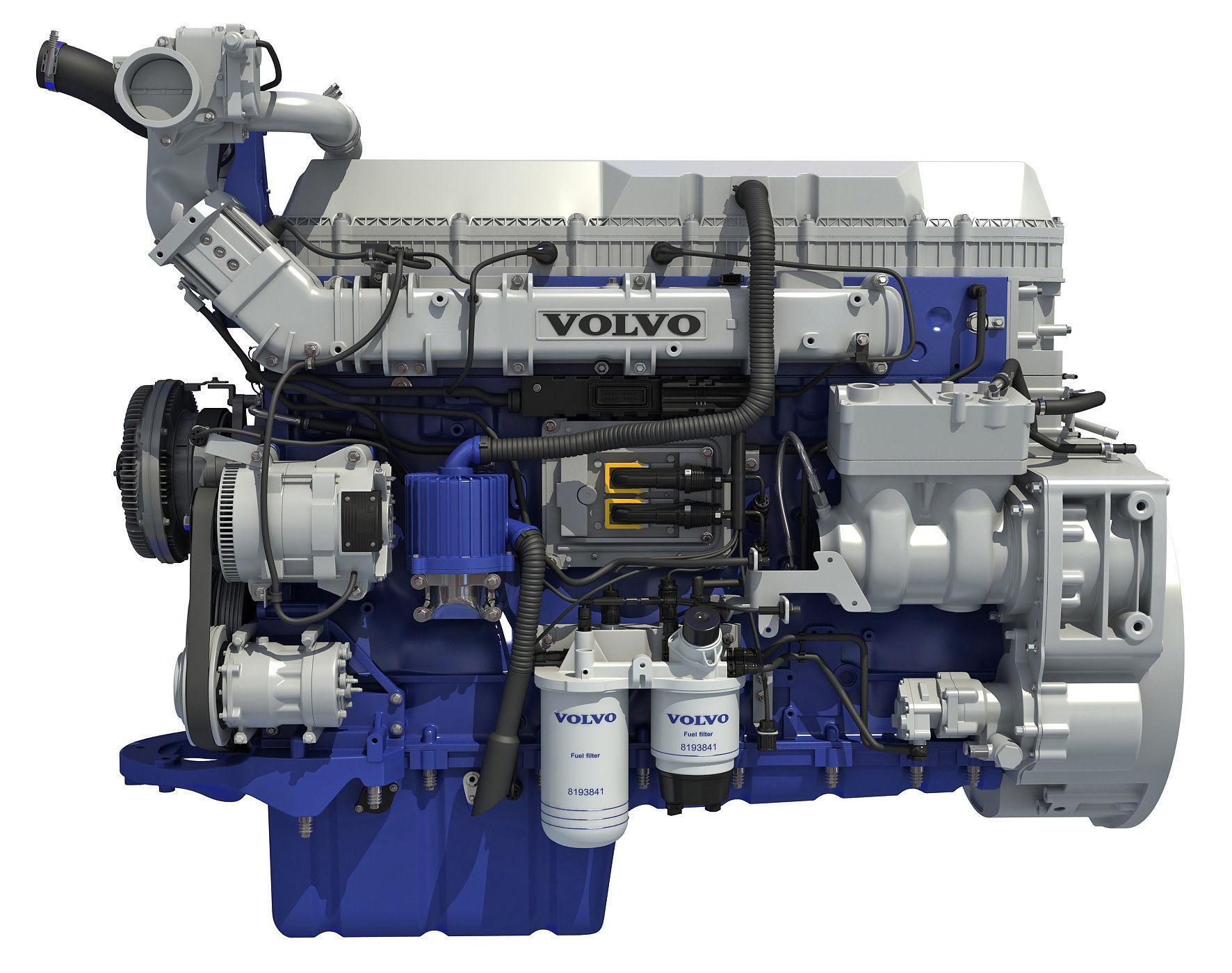 Volvo Powertrain D13 Engine