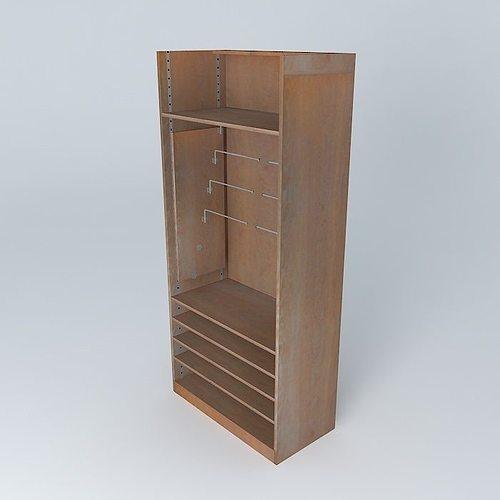 3d brown the shelf rack store maisons du monde. Black Bedroom Furniture Sets. Home Design Ideas