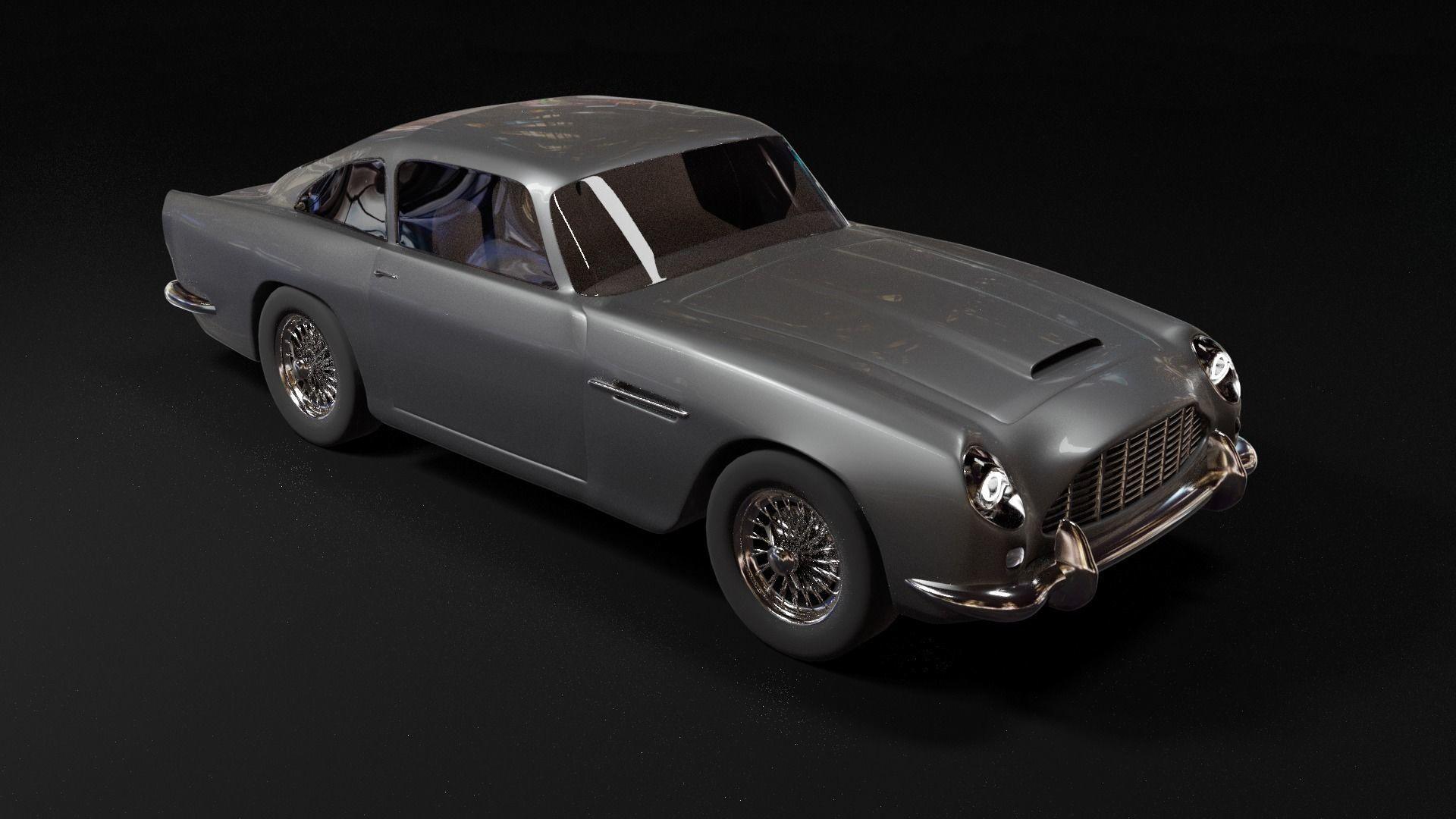 Aston Martin DB5 3d model