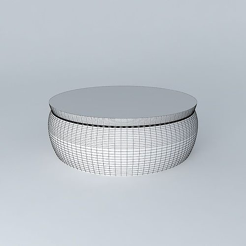 Coffee table nomad 3d model max obj 3ds fbx stl dae - Table basse nomade ...