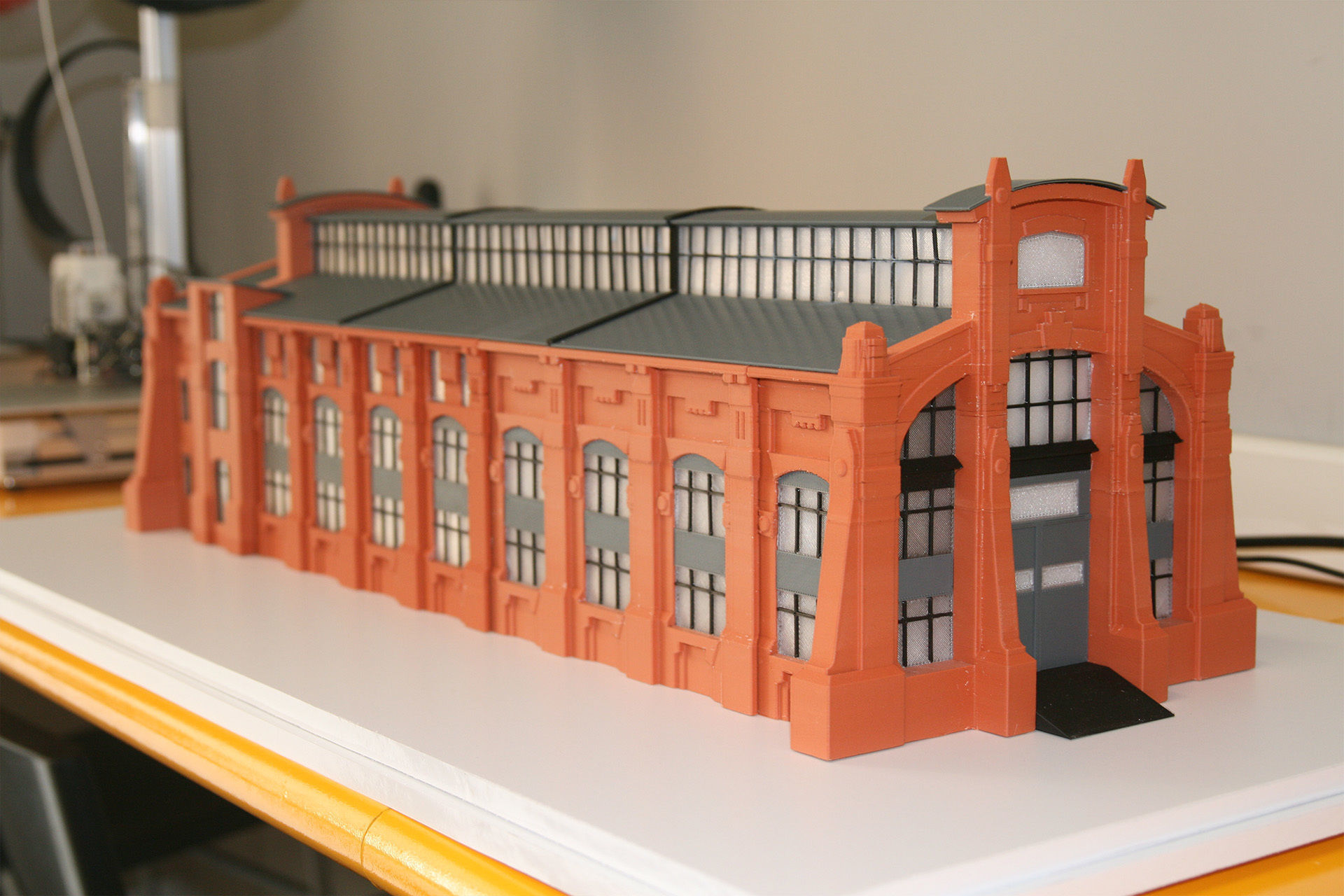 Industrial Building 3DPrint Ready