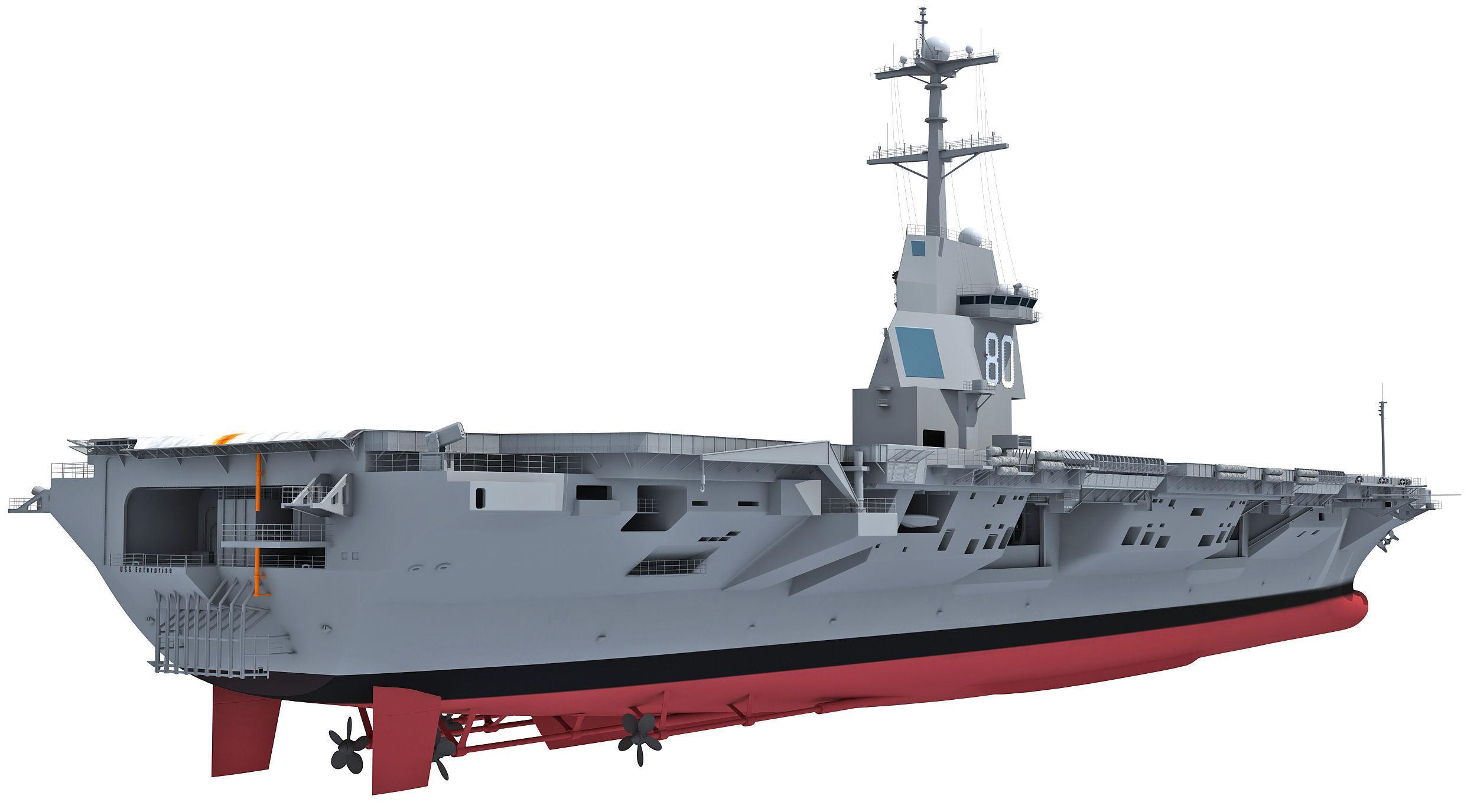USS Enterprise CVN-80 Aircraft Carrier