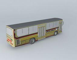 3d model mercedes benz oh 1316