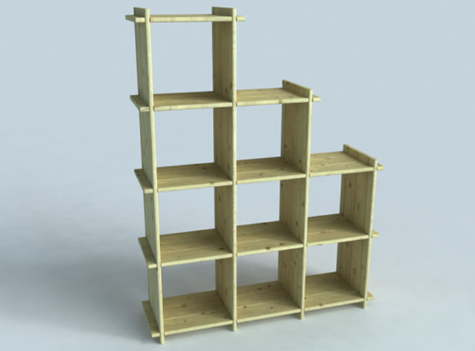 book-cases collection3D model