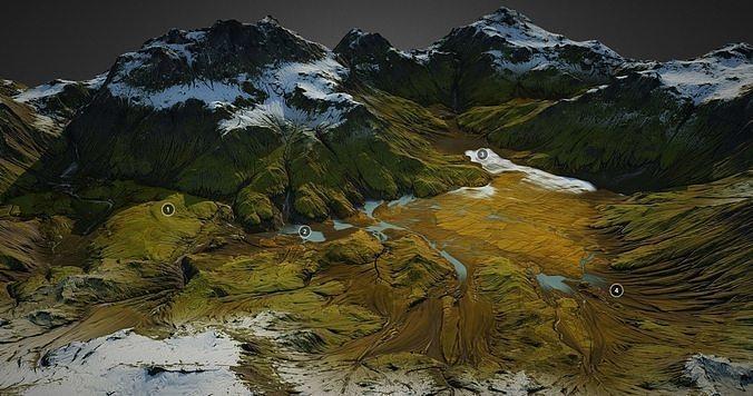 Iceland landscape - World Machine