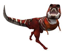 Simple Tyrannosaurus 3D model
