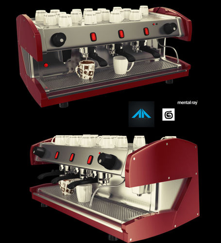 Coffee Maker Free 3d Model Max