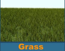 Grass tiled 3D Model