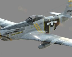 P-51D - The Flying Undertaker 3D Model