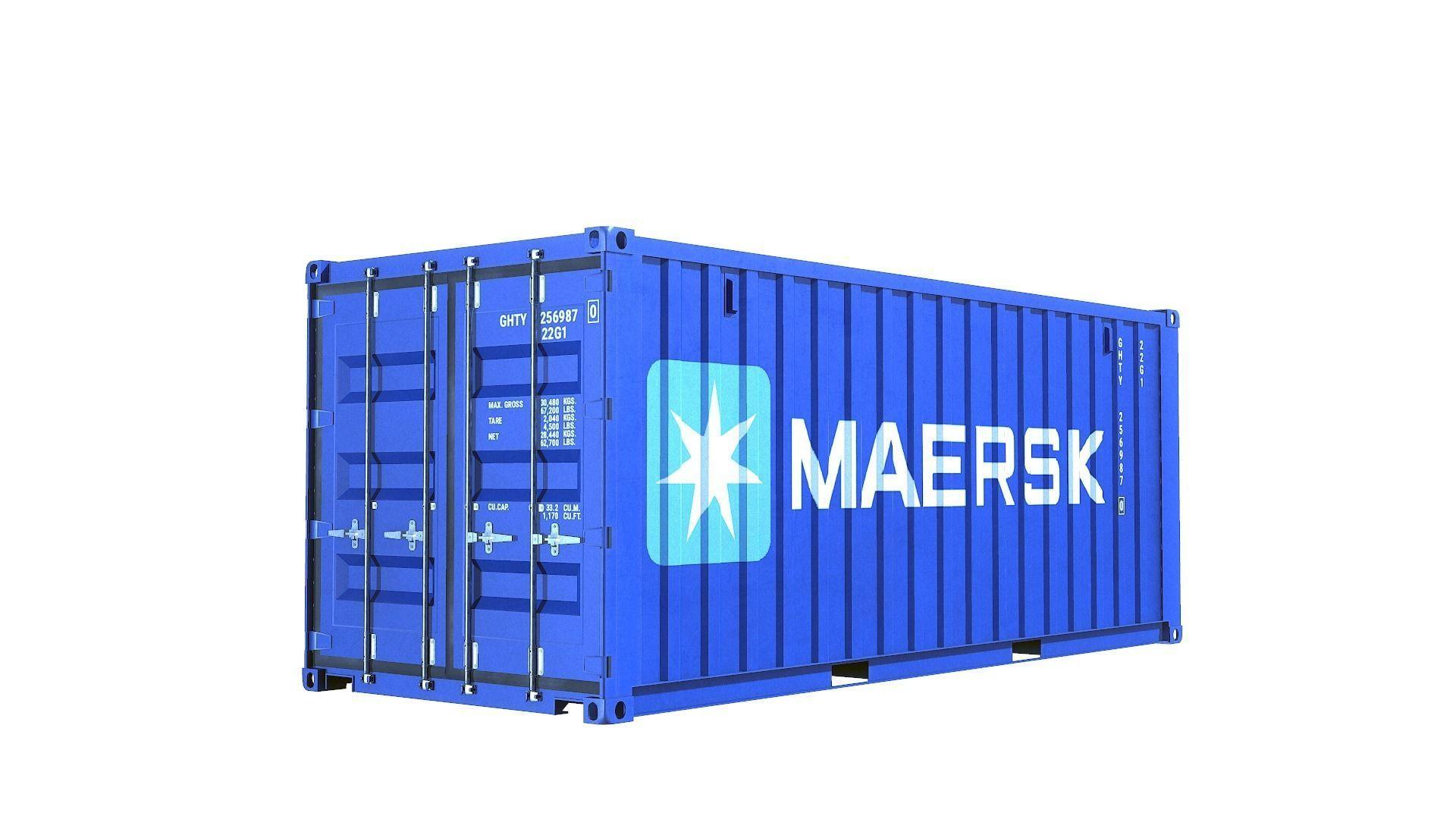 Container Dry Van 20