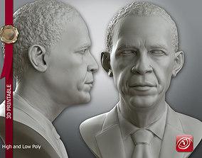 Obama Bust 3D printable model