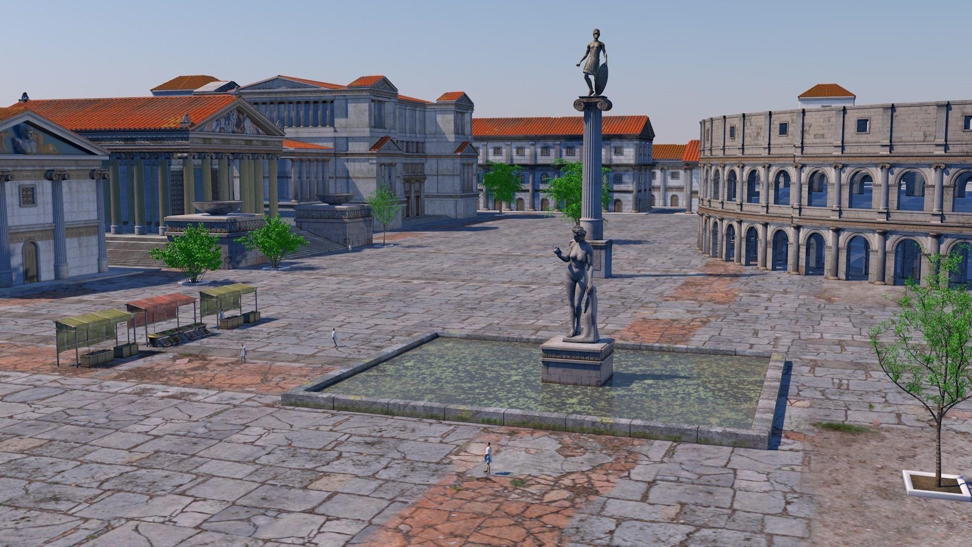 Classic romanic city